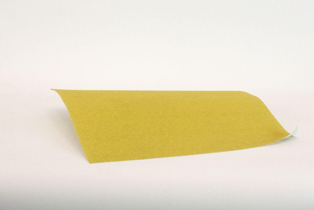 Natuurverfwinkel - Schuurpapier - geel K80 - image